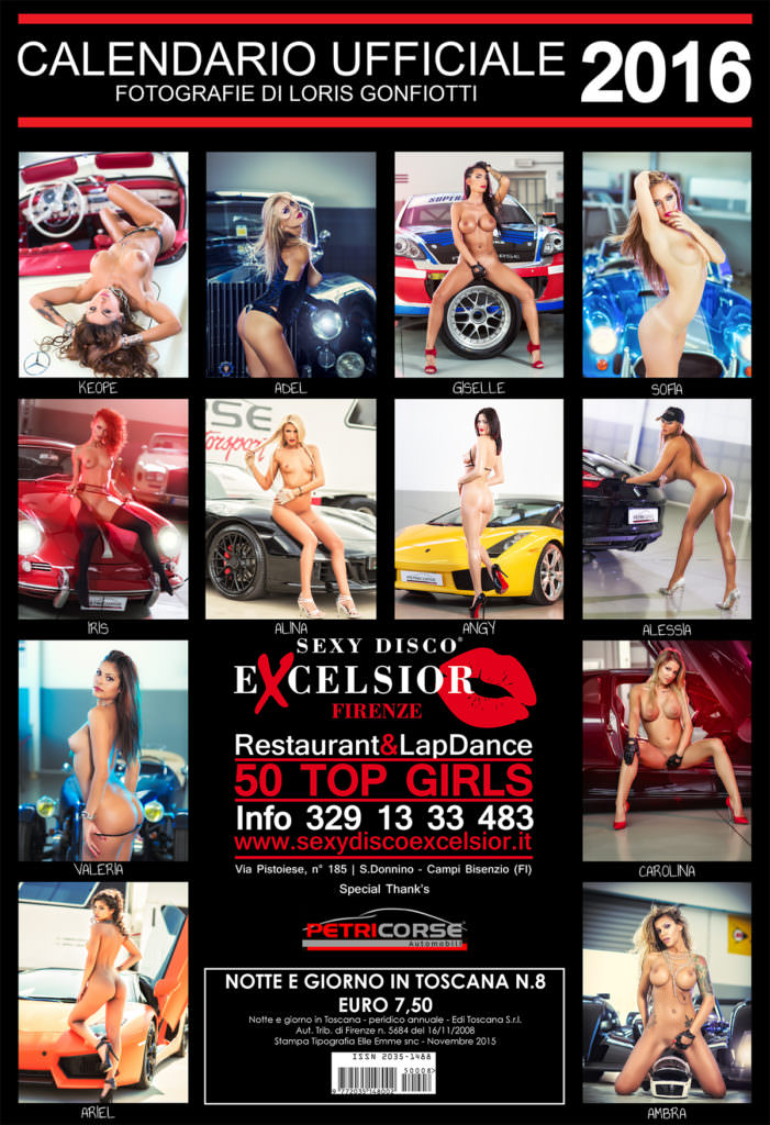 Calendario Excelsior 2016 By Loris Gonfiotti