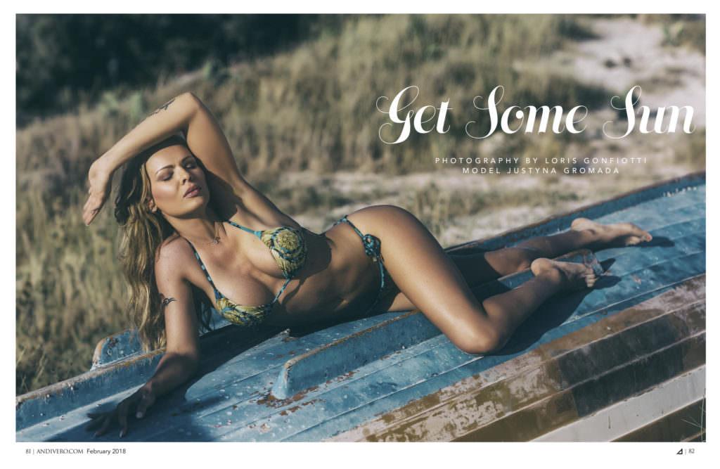 ANDIVERO #15 Magazine Feb. 2018 - Justyna Gromada