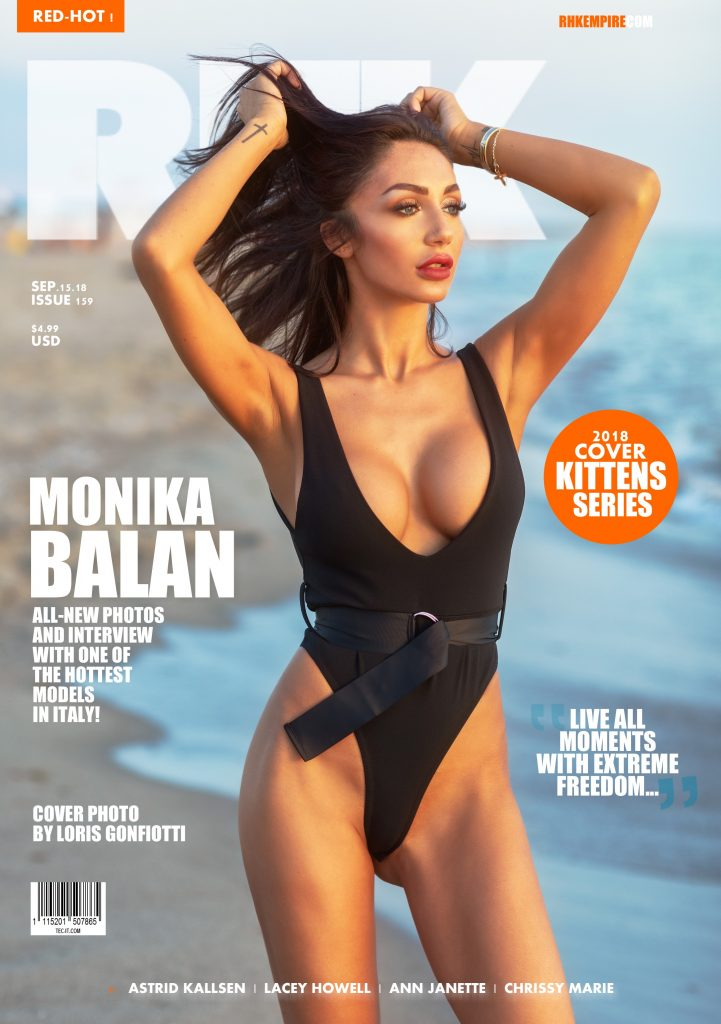 RHK MAGAZINE SEP.15.18 issue159 - Starring Monika Balan By Loris Gonfiotti